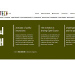 The website homepage of LowTech