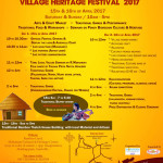 4th Village HEritage Festival on 15th and 16th at Bamboo Land