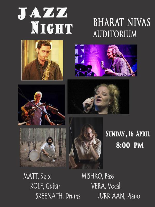 Photographer:Monireh | Jazz Night on 16th of April at Bharat Nivas