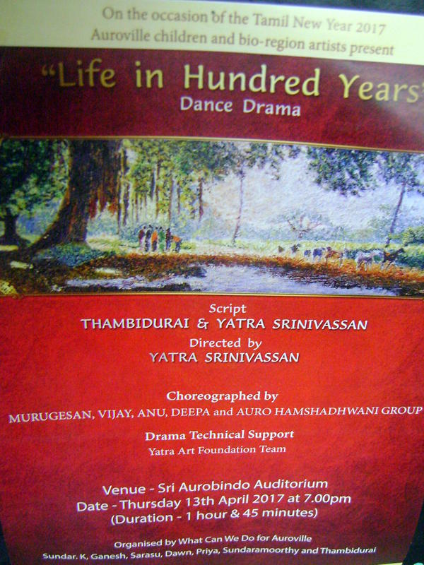Photographer:web | Life in Hundred Years tonight at 7pm at Bharat Nivas