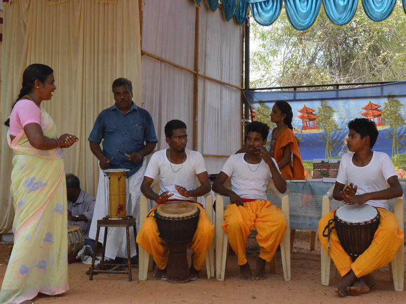 Photographer:Gino | Traditional Tamil Dance and Music