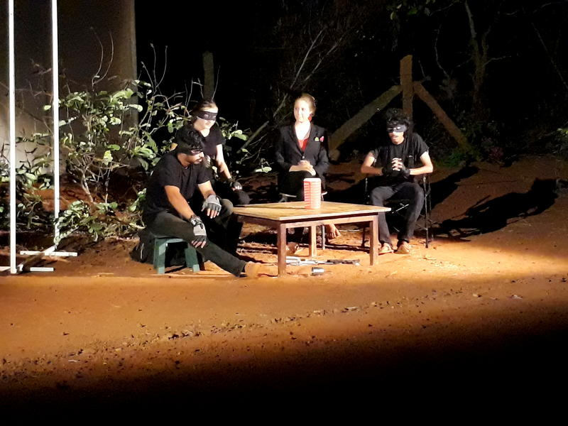 Photographer:Belinda | Three Maskmen (Where is Tamanna?)