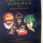 Three Maskmen - comedy at LLast School tonight at 7.30pm