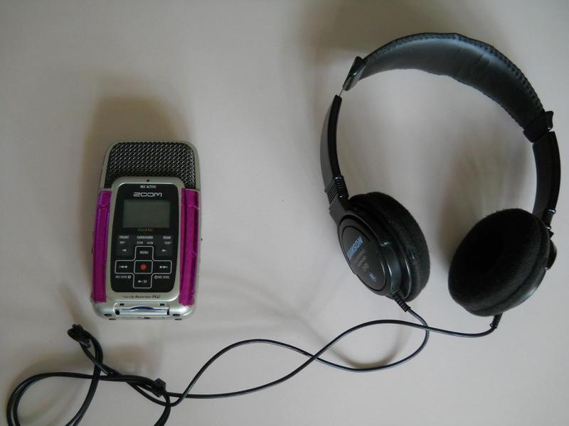 Photographer:Gino | Headphones and Microphone