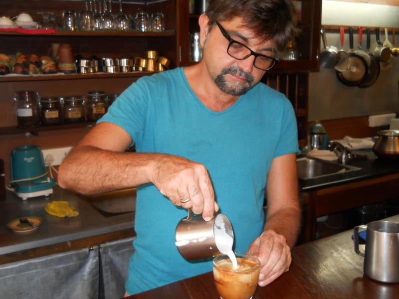 Photographer:Gino | Creating the Cappuccino