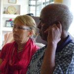 Africa House Meeting - Jaya and Tekeste