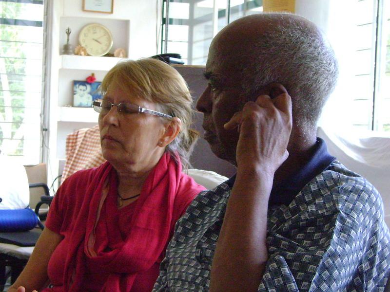 Photographer:radioarchive | Africa House Meeting - Jaya and Tekeste