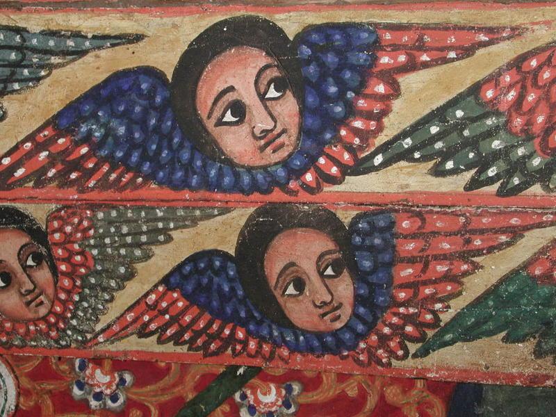 Photographer:web | Ethiopian iconic art