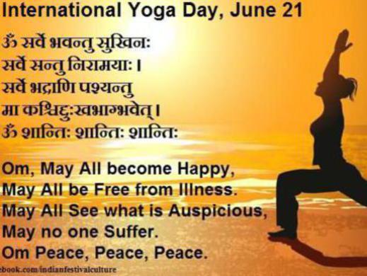 Photographer:web | International Yoga Day, 21st of June