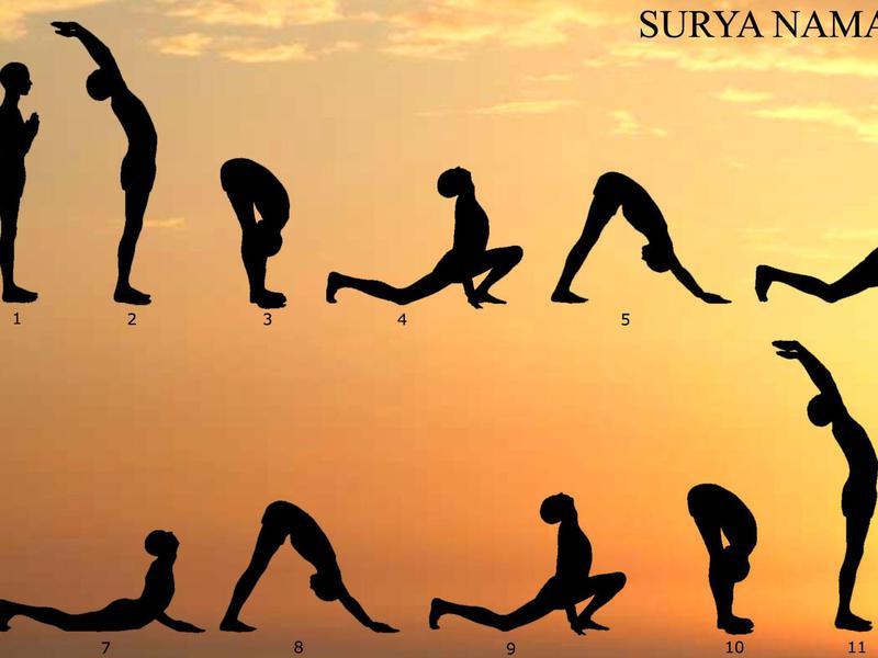 Photographer:web | Surya Namaskar
