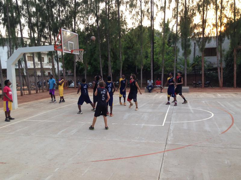 Photographer:web |The Auroville Basketball Family