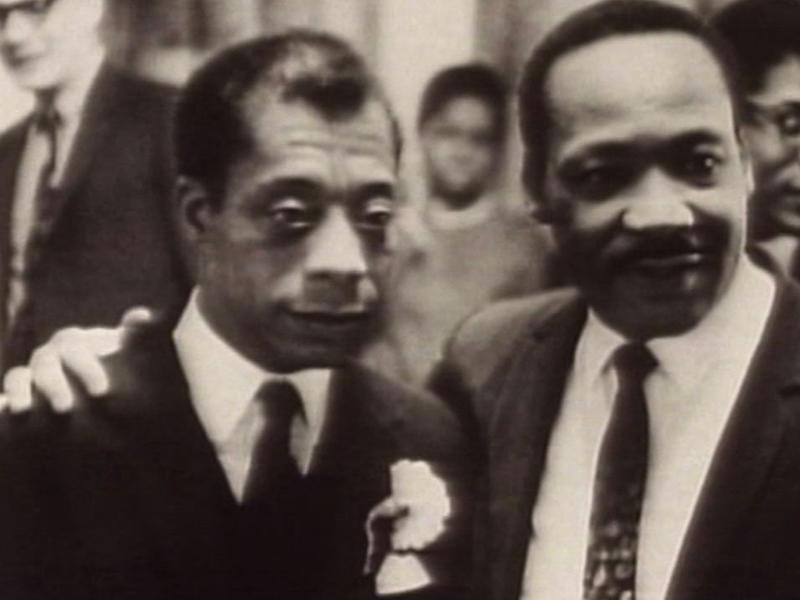 Photographer:web | James Baldwin and Martin Luther King