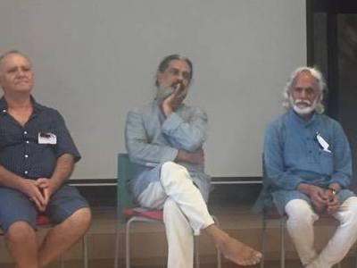Photographer:Ishana Sanan   Anathoo (pictured in the centre)
