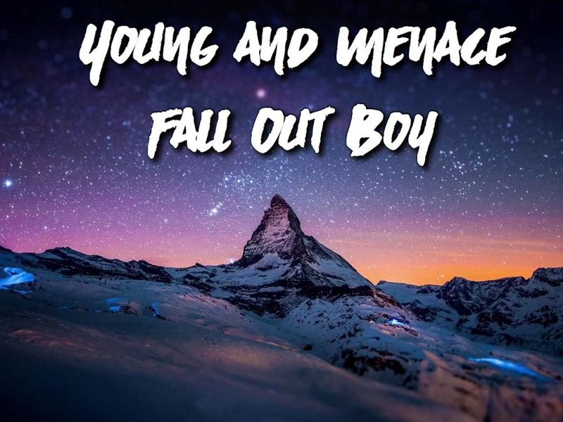 Photographer:web | Fall Out Boy - Young And Menace