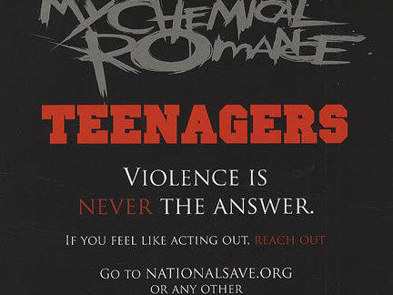 Photographer:web | Teenagers - My Chemical Romance