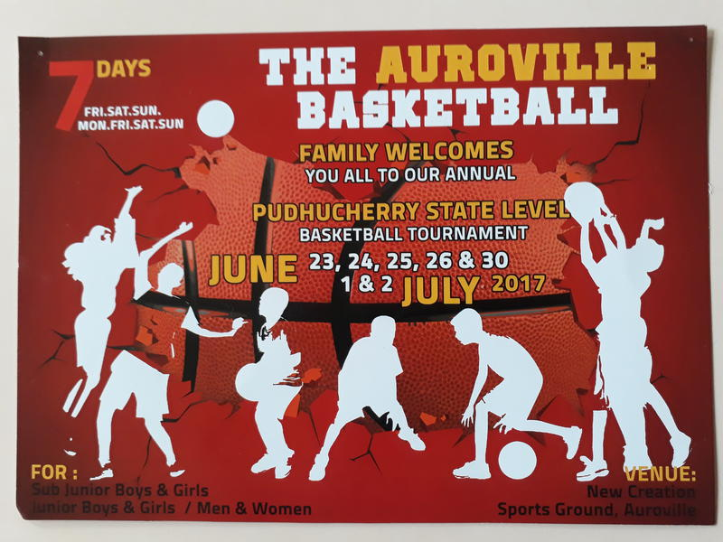 Photographer:web | the Auroville Basketball Family along with Lotus and Fraternity