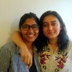Shriya and Ishana, on  intersnhip experiences at the AV Radio