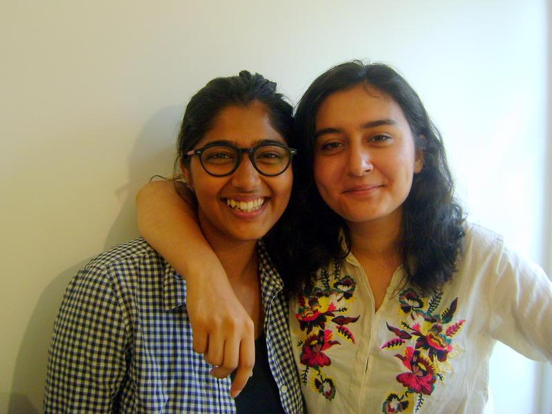 Photographer:Amadea | Shriya and Ishana, on  intersnhip experiences at the AV Radio