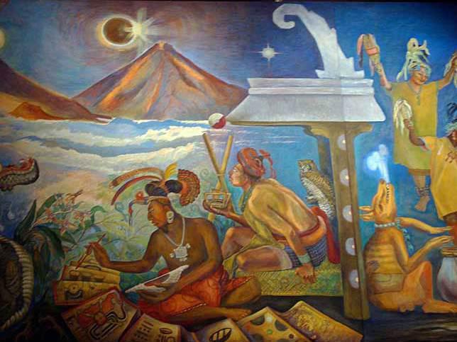 Photographer:web   Mayan music