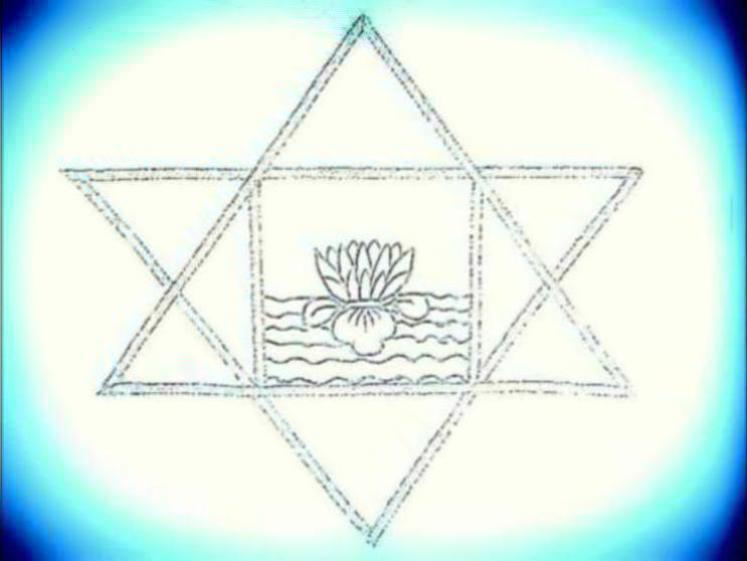 Photographer:web | stylized version of symbol of Sri Aurobindo