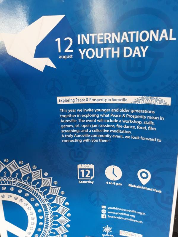 Photographer:web | IYD on 12th at 4pm at Mahalakshmi Park - Peace & Prosperity