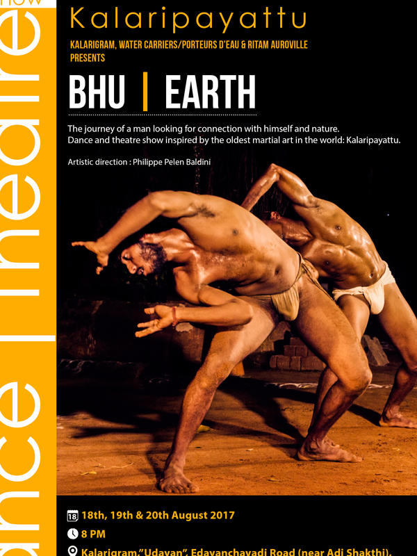 Photographer:web | BHU/Earth dance performance on 1, 2, 3 September at Kalarigram