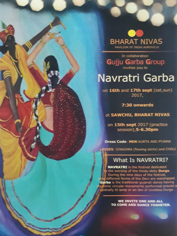 Photographer:breda | Navaratri Garba on 16th and 17th from 7.3pm onward at SAWCHU
