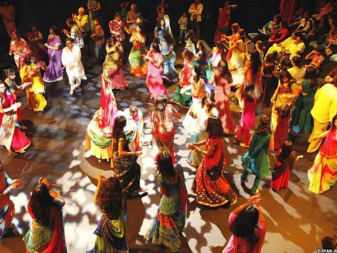 Photographer:web | Navratri Festival with Garba Dance