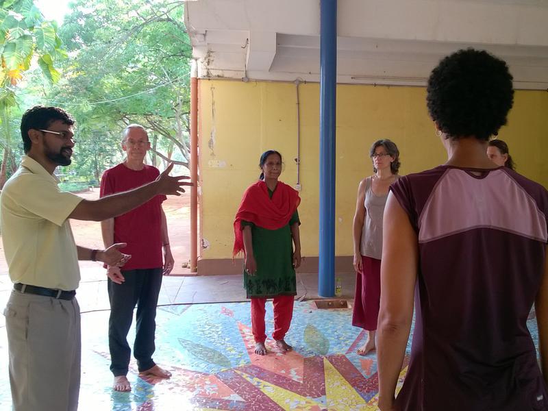 Photographer:Prarthana Kalaskar | Know Your Rhythm with scool teachers of Auroville
