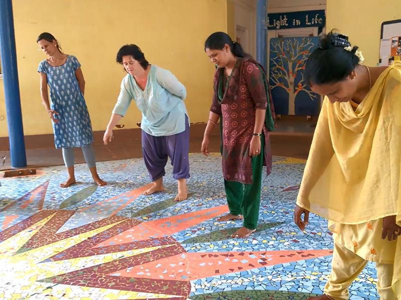 Photographer:Prarthana Kalaskar | Know Your Rhythm with scool teachers of Auroville 2