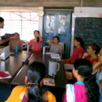 Know Your Rhythm with scool teachers of Auroville 3