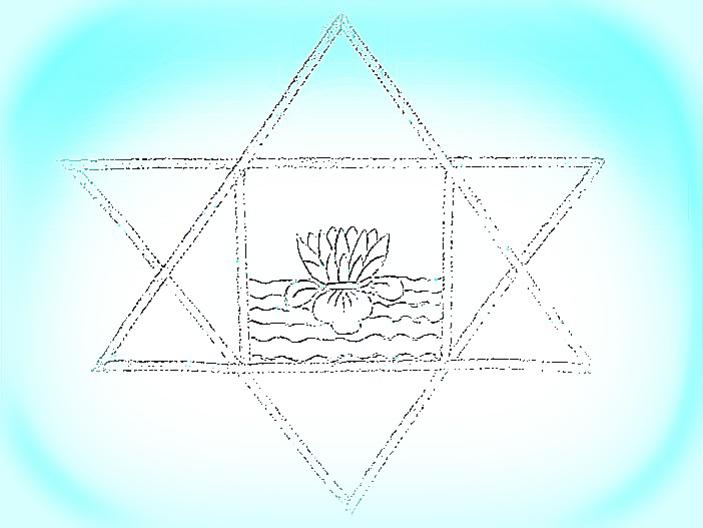 Photographer:web | stylized version of the symbol of Sri Aurobindo
