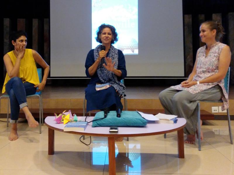 Photographer:Ray   From left: Mandadini, Anu & Kripa