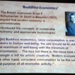 Bhuddist Economics - Sustainability