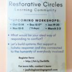 Coming workshops
