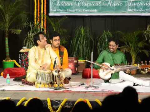 Photographer:web | Pt. Sanjay Mukherjee on tabla - recital in AV on 14th at CRIPA