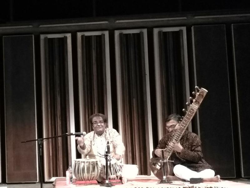 Photographer:Ray   Tabla recital in CRIPA hall
