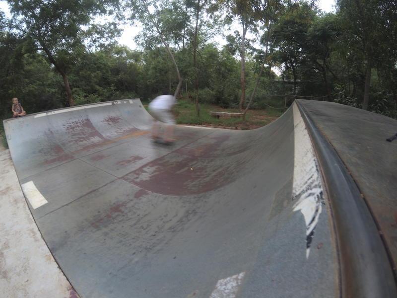 Photographer:Adak Vishal | Rolling on the mini ramp