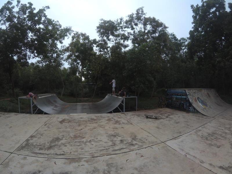 Photographer:Adak Vishal | Skate mini ramp