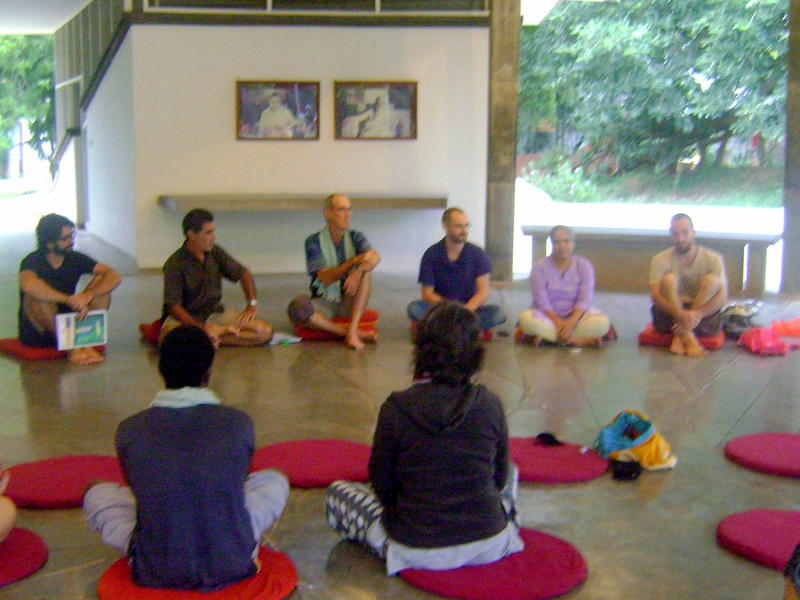 Photographer:Breda | Auroville Safety and Security Information Meeting at SAWCHU