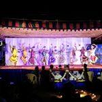 Bharatanatya dancers in full swing
