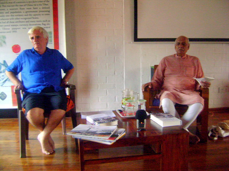 Photographer:Vida | Claude Arpi, Ashok Chatterjee