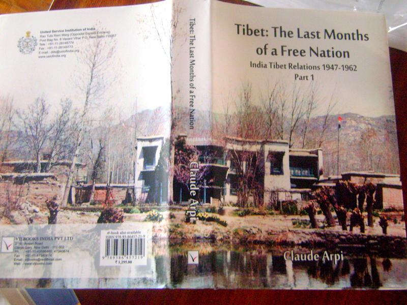 Photographer:Vida | book on history of Tibet by Claude Arpi