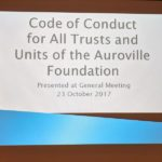 <b>GM on Code of Conduct</b>
