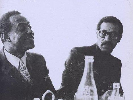 Photographer:web | Archie Shepp and Max Roach