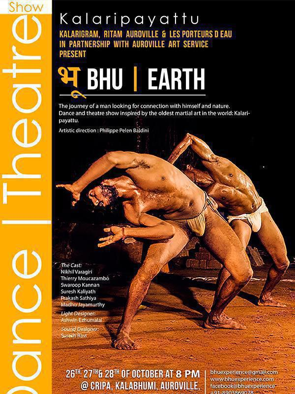 Photographer:web | BHU/EARTH dance performance on 26, 27, 28 at 8pm at CRIPA