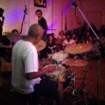 Suresh on drums