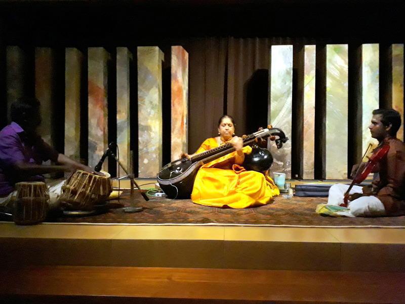 Photographer:Zeena | Veena recital at Unity Pavilion