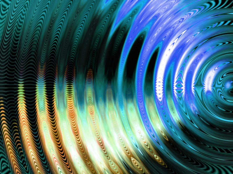 Photographer:web | Everything is in vibration a frequency..