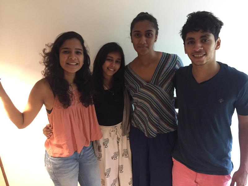 Photographer:Ira   Ira Gopal, Kritika Siroliya, Ayushi  Sheth and Raj Kadam